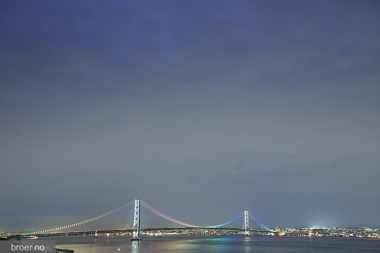 bilde av Akashi Kaikyō Broen