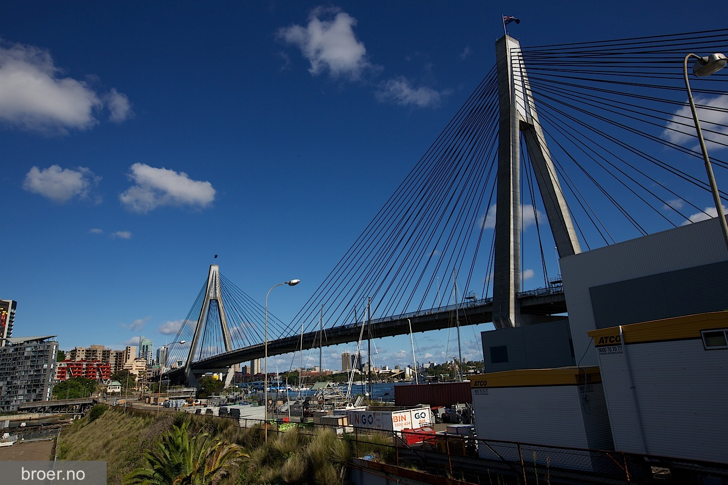 picture of Anzac Bridge