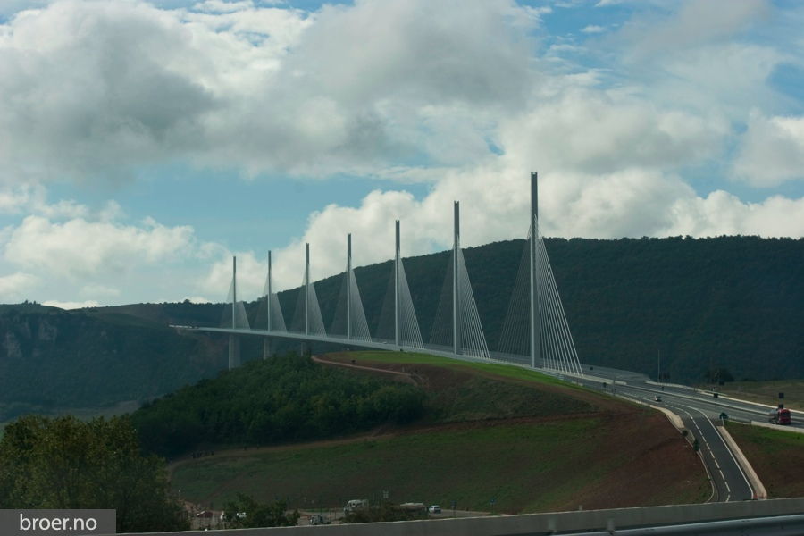 bilde av Millau Viadukt
