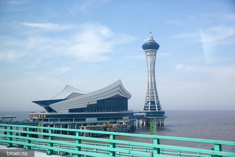 bilde av Hangzhou Bay broen