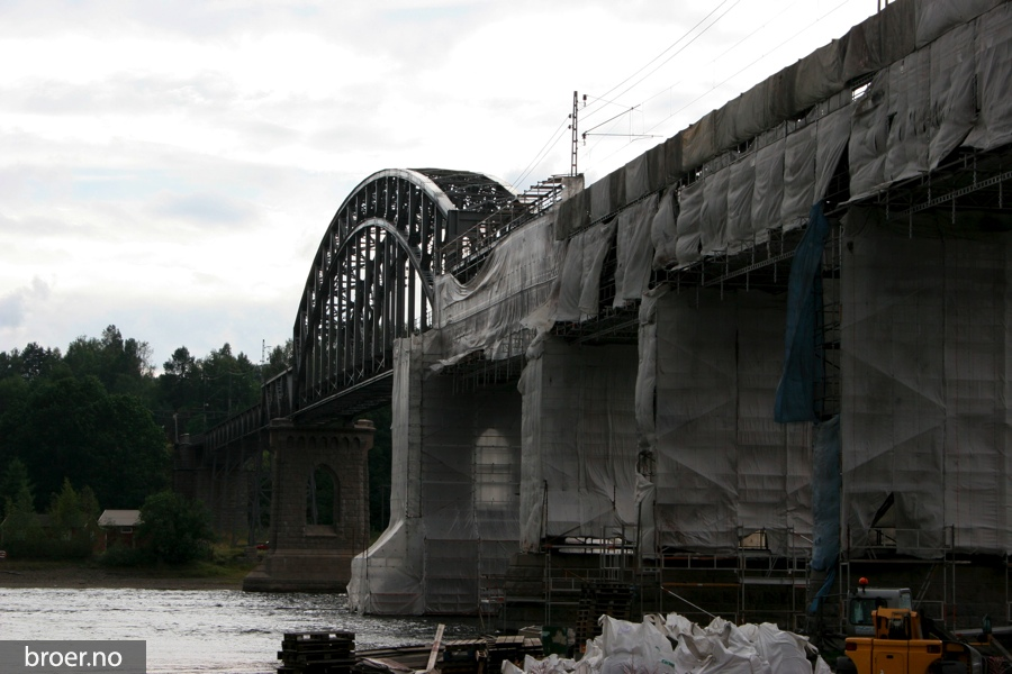 picture of Minnesund railway bridge