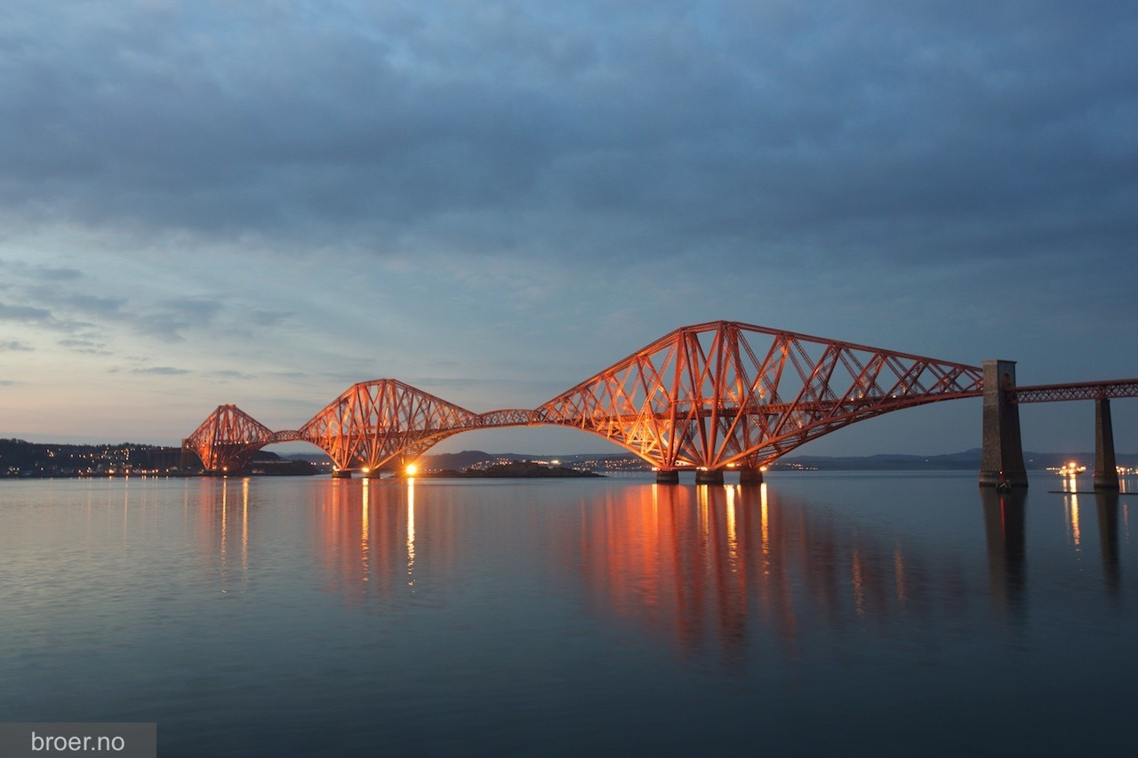 bilde av Forth Bridge