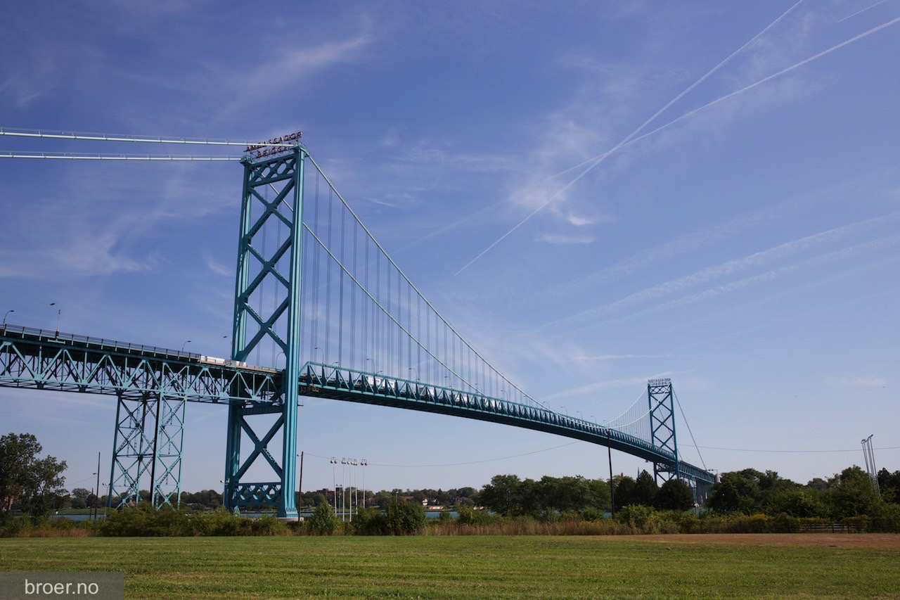 bilde av Ambassador Bridge