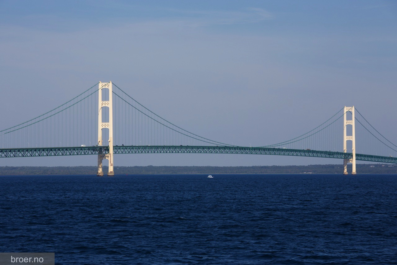 bilde av Mackinac Bridge