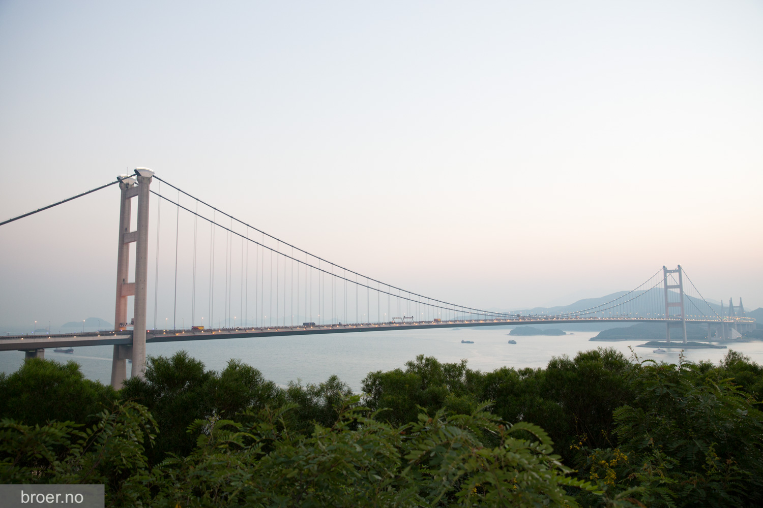 picture of Tsing Ma Bridge