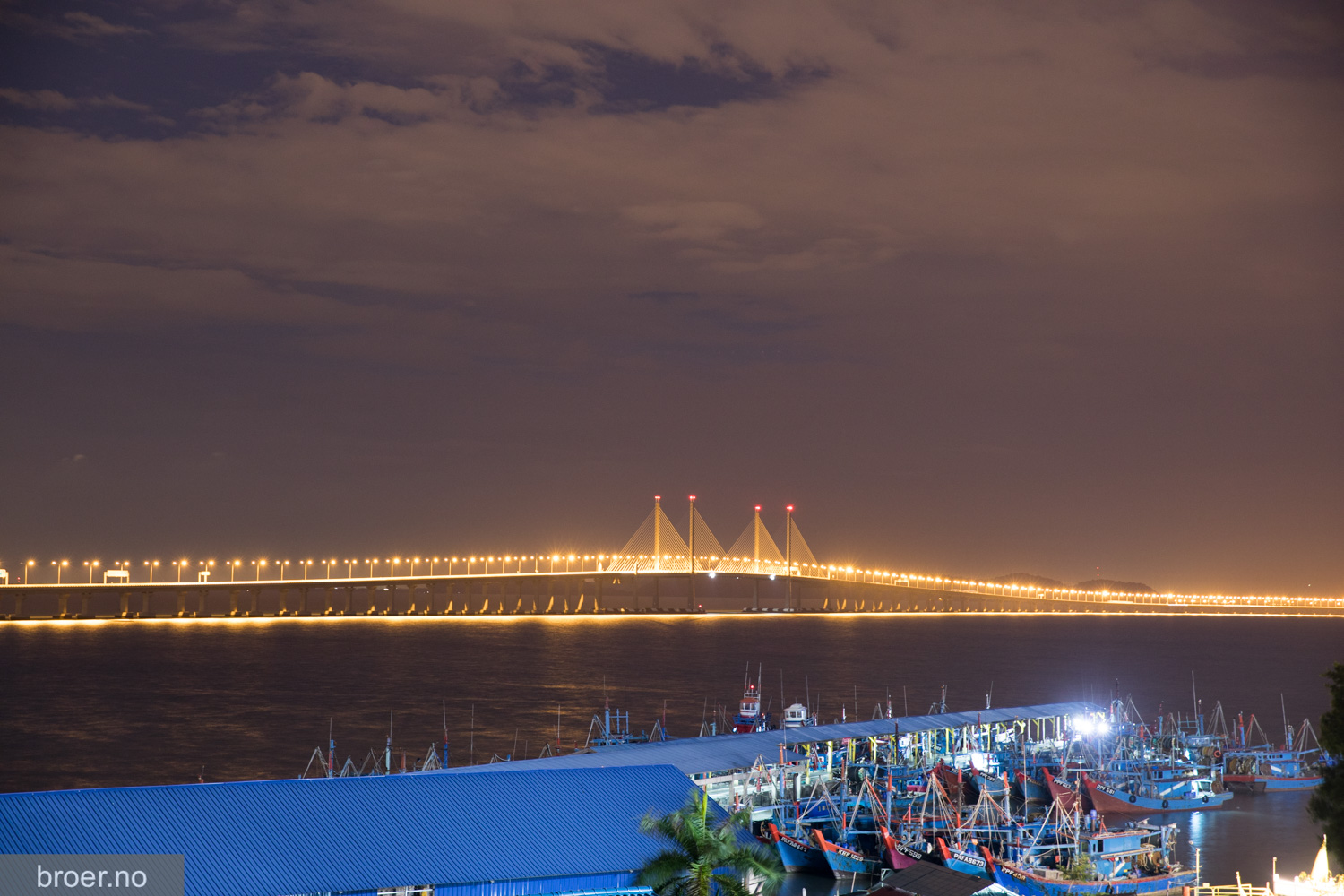 picture of Sultan Abdul Halim Muadzam Shah Bridge