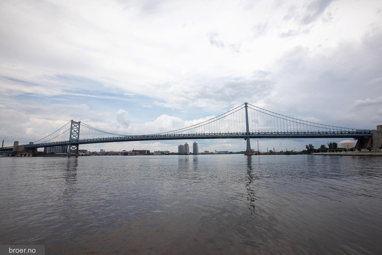 bilde av Benjamin Franklin Bridge
