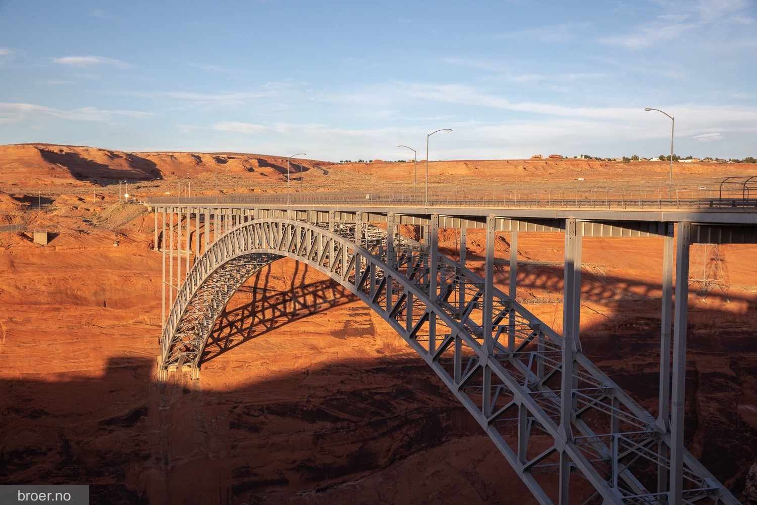 bilde av Glen Canyon Dam Bridge