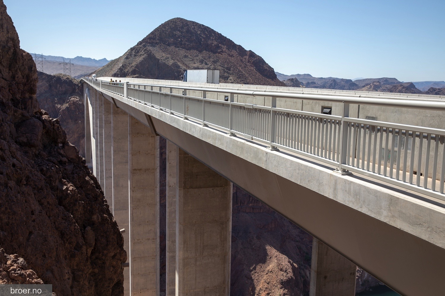 bilde av Mike O Callaghan–Pat Tillman Memorial Bridge