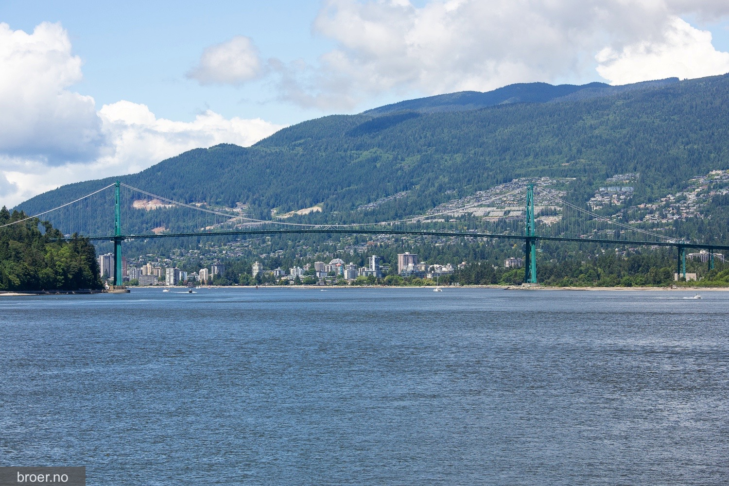 bilde av Lions Gate Bridge