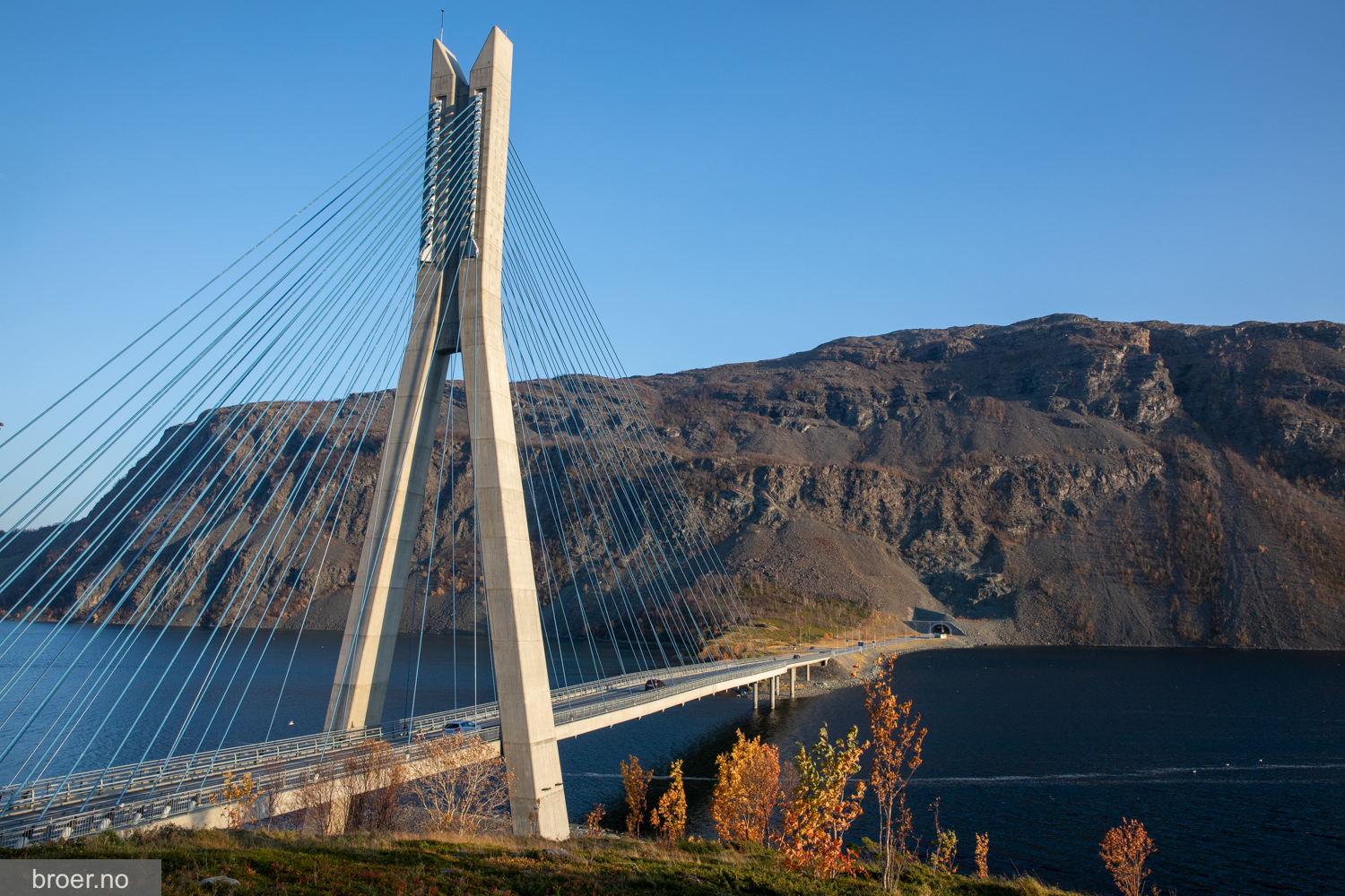 picture of Kåfjord bridge