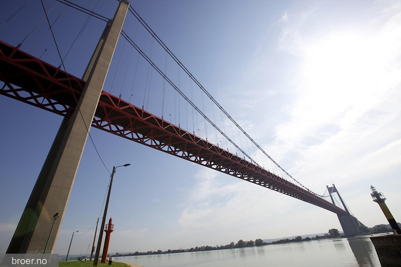 bilde av Tancarville broen