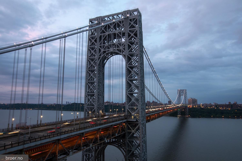 bilde av George Washington Broen